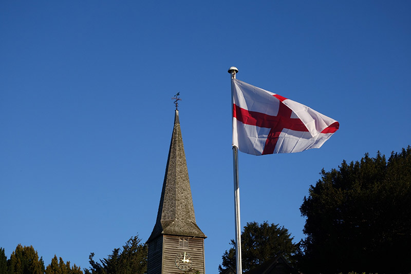 cross of st george flag